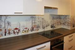 Кухонный фартук с напечатанной полноцветной фотографией